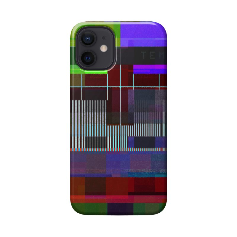 Test Card Accessories Phone Case by bulo