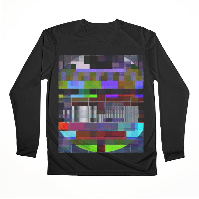 Test Card Women's Longsleeve T-Shirt by bulo