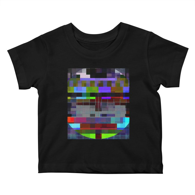 Test Card Kids Baby T-Shirt by bulo