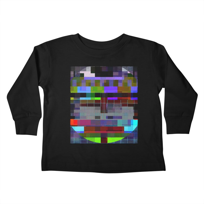 Test Card Kids Toddler Longsleeve T-Shirt by bulo