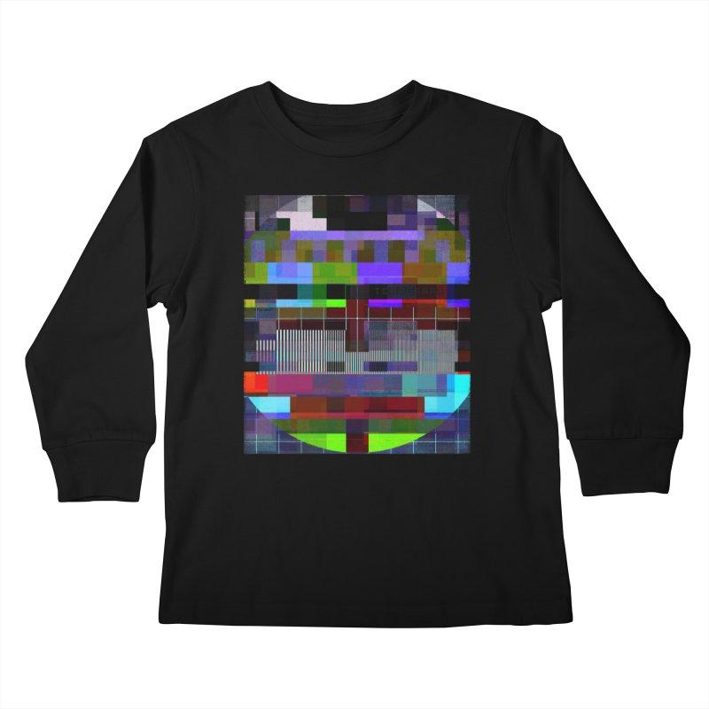 Test Card Kids Longsleeve T-Shirt by bulo