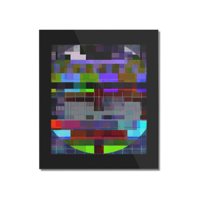 Test Card Home Mounted Acrylic Print by bulo