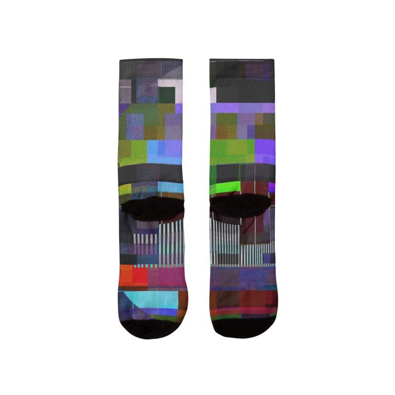 Test Card Men's Socks by bulo