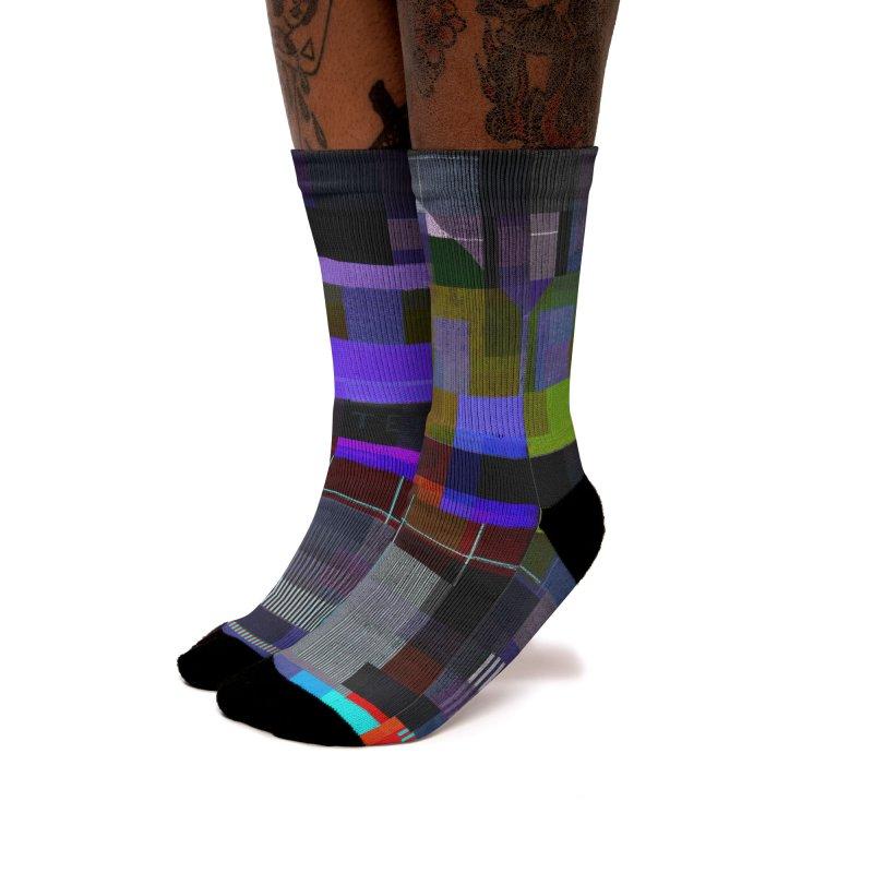 Test Card Women's Socks by bulo