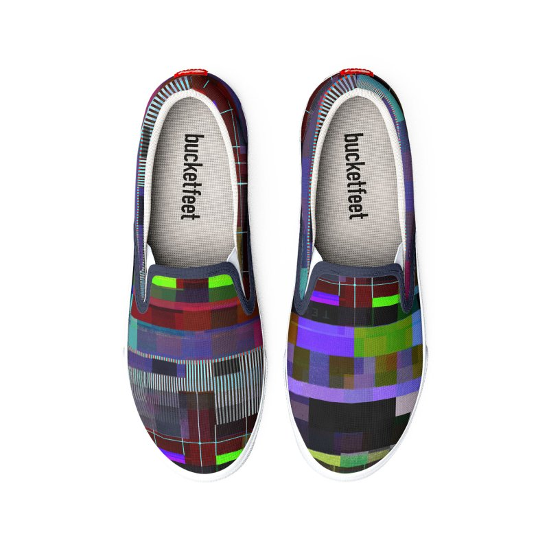 Test Card Men's Shoes by bulo