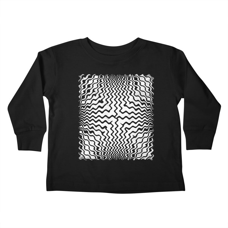 Magnetic Kids Toddler Longsleeve T-Shirt by bulo