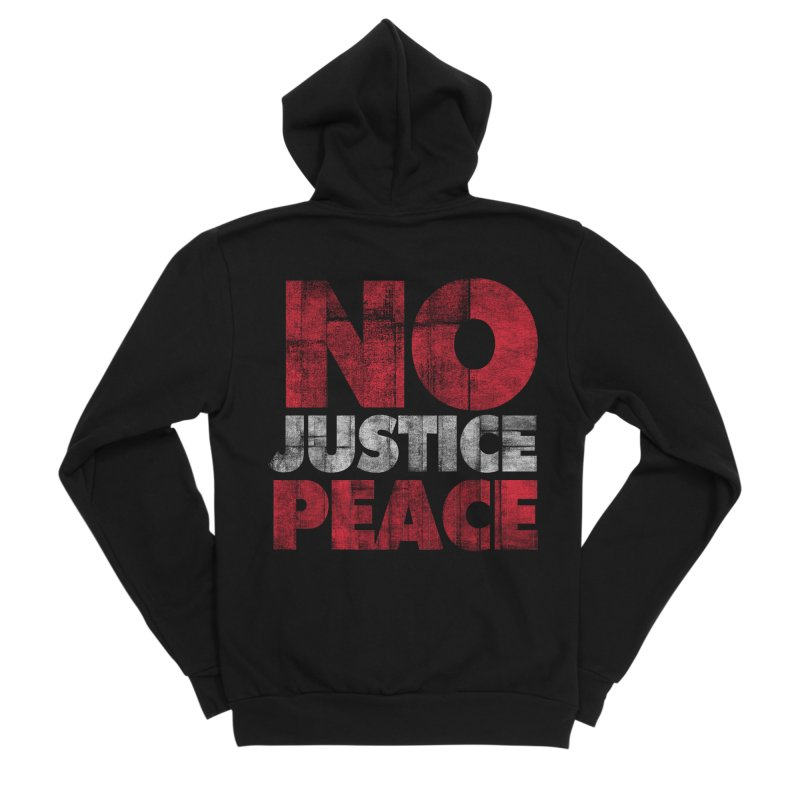 No Justice No Peace Women's Zip-Up Hoody by bulo