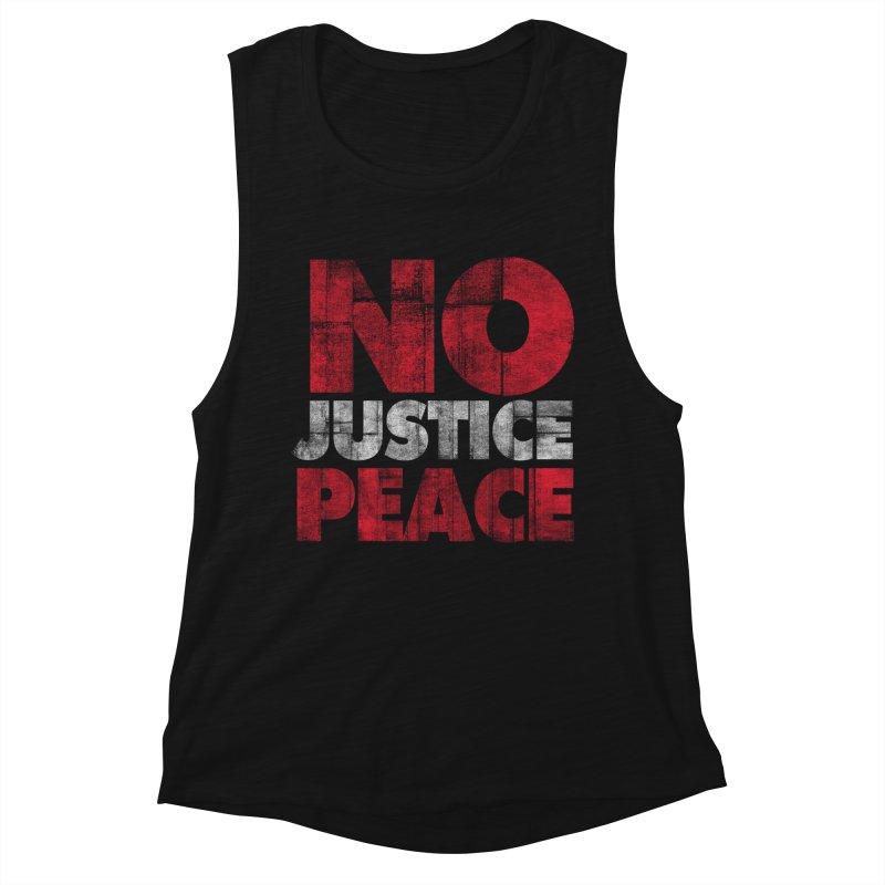 No Justice No Peace Women's Tank by bulo