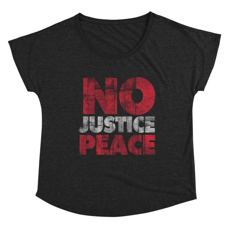 No Justice No Peace Women's Scoop Neck by bulo