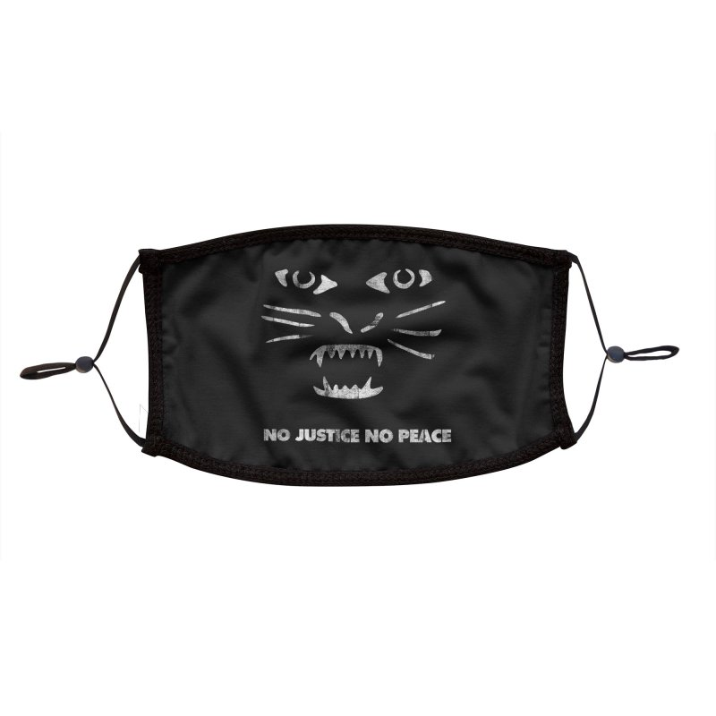No Justice No Peace Accessories Face Mask by bulo