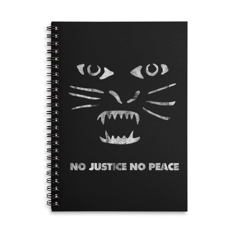 No Justice No Peace Accessories Notebook by bulo