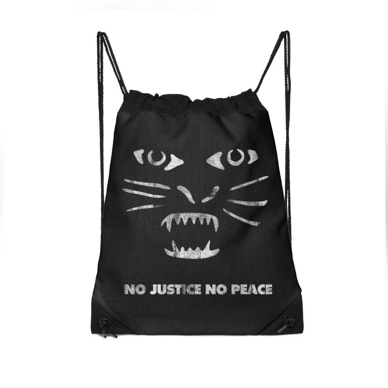 No Justice No Peace Accessories Bag by bulo