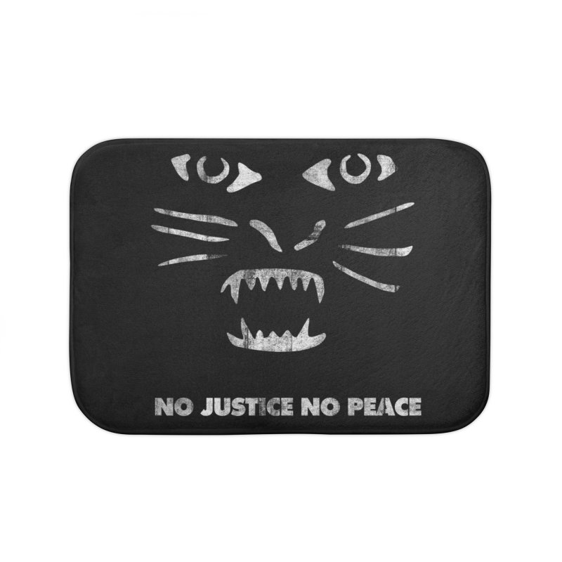 No Justice No Peace Home Bath Mat by bulo