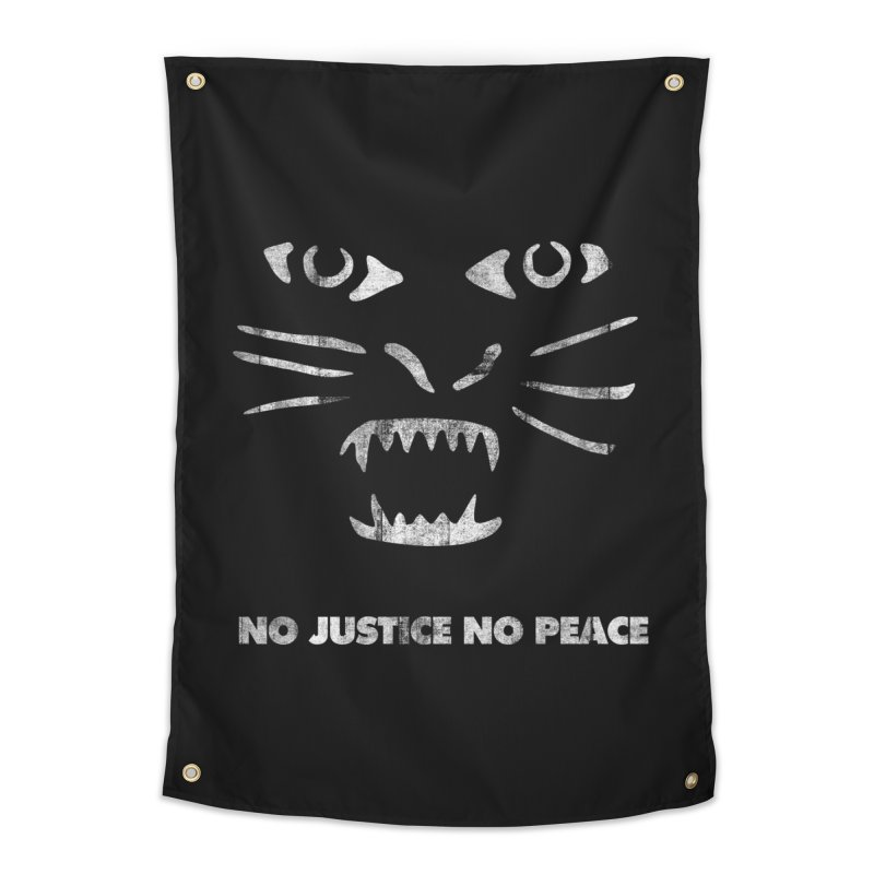 No Justice No Peace Home Tapestry by bulo