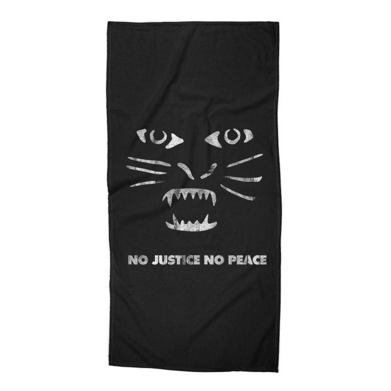 No Justice No Peace Accessories Beach Towel by bulo