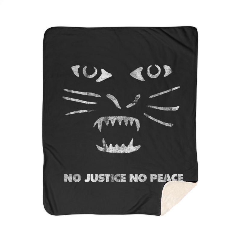 No Justice No Peace Home Blanket by bulo