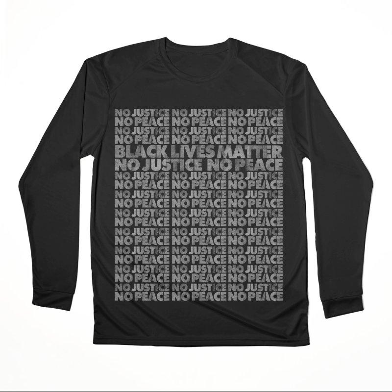 No Justice No Peace Women's Longsleeve T-Shirt by bulo