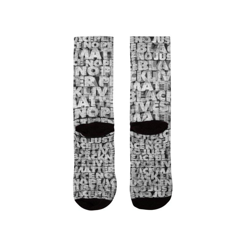 No Justice No Peace Women's Socks by bulo