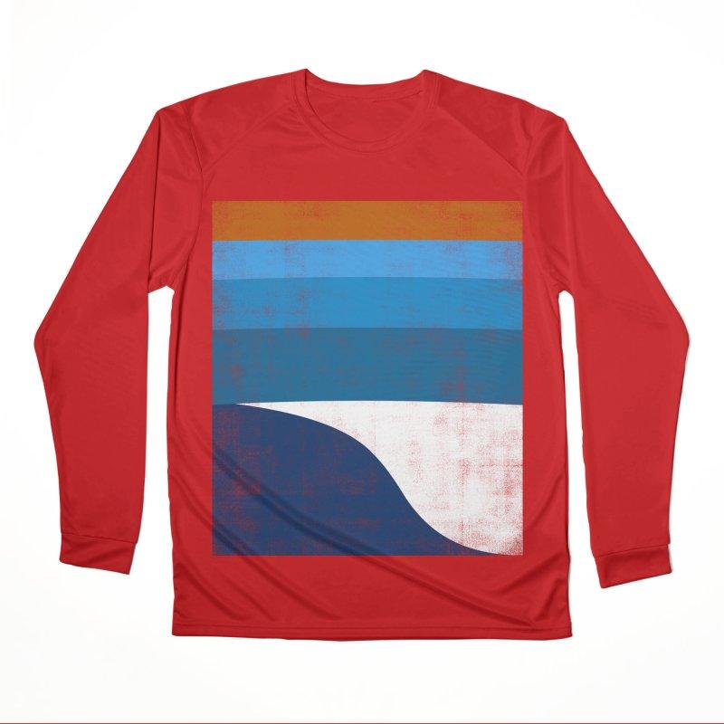 Waves Women's Performance Unisex Longsleeve T-Shirt by bulo