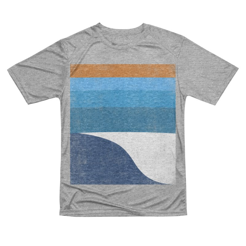Waves Women's Performance Unisex T-Shirt by bulo