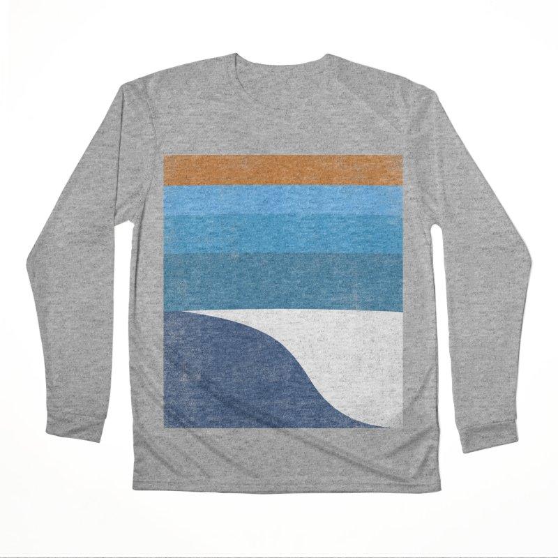Waves Men's Performance Longsleeve T-Shirt by bulo