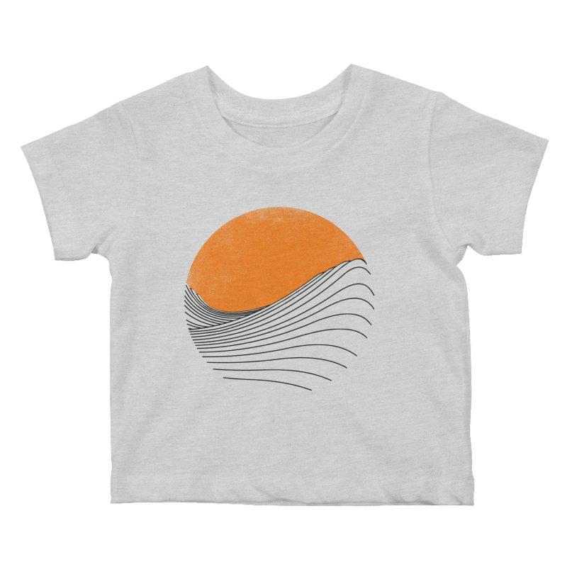Sunrise Kids Baby T-Shirt by bulo