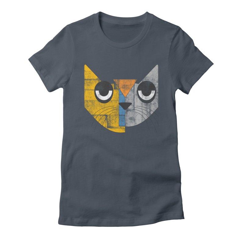 Cubicat Tired Women's T-Shirt by bulo