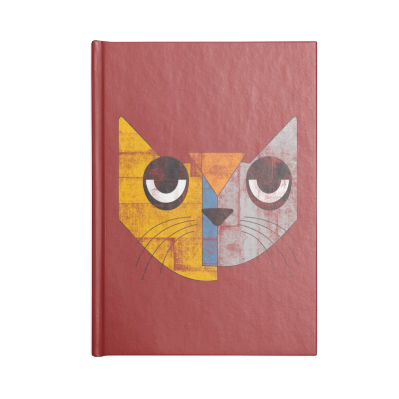 Cubicat Tired Accessories Notebook by bulo