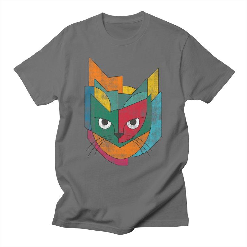 Cubicat Men's T-Shirt by bulo