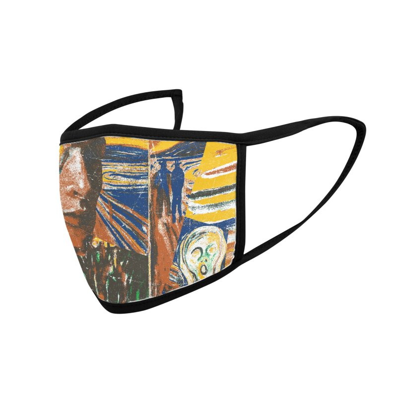Munch (rework) Accessories Face Mask by bulo