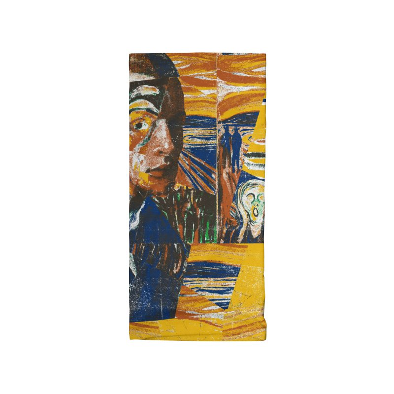 Munch (rework) Accessories Neck Gaiter by bulo