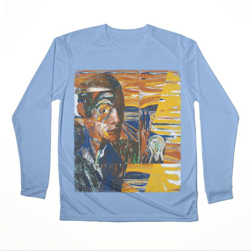Munch (rework) Men's Longsleeve T-Shirt by bulo