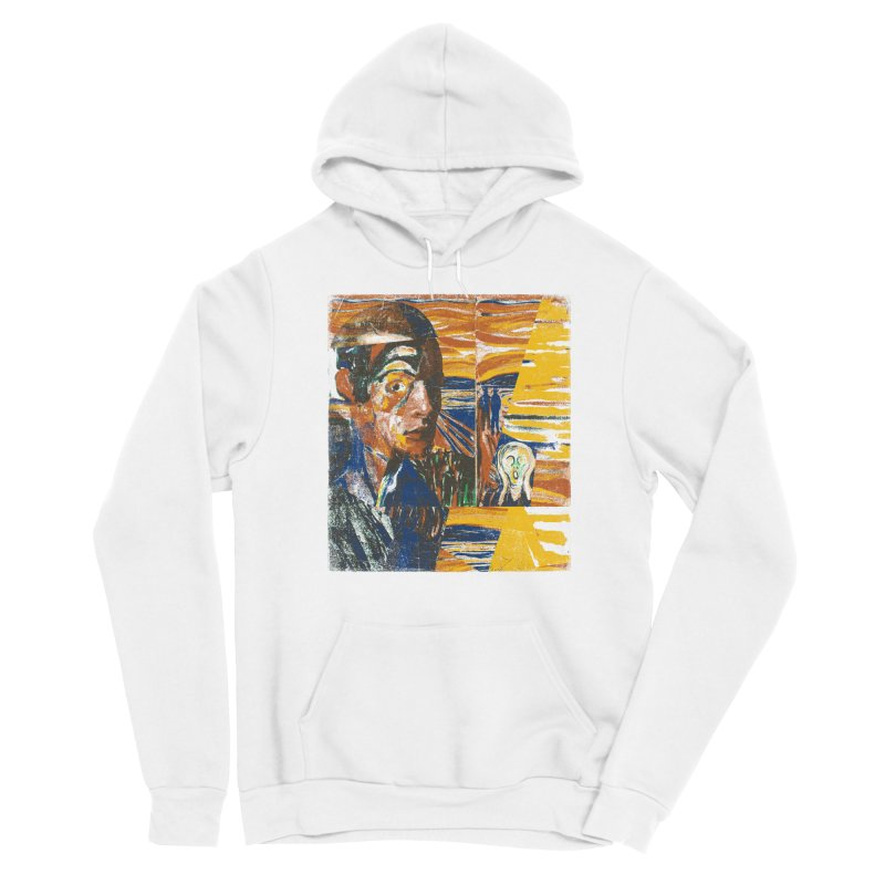 Munch (rework) Women's Pullover Hoody by bulo