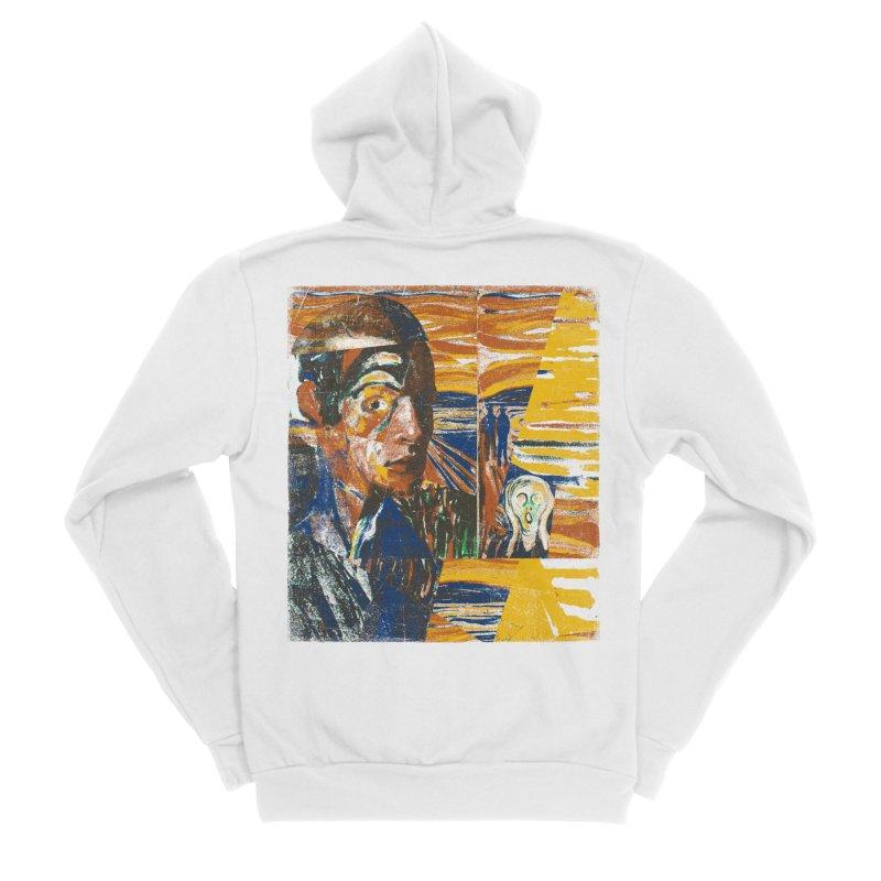 Munch (rework) Women's Zip-Up Hoody by bulo