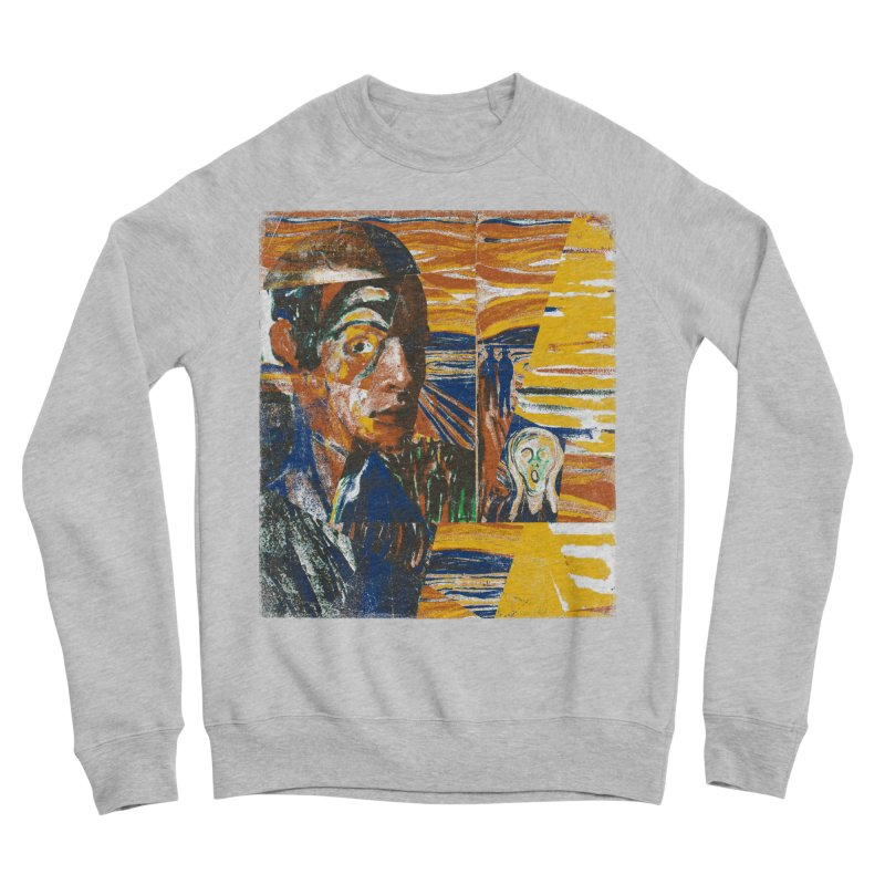 Munch (rework) Men's Sweatshirt by bulo