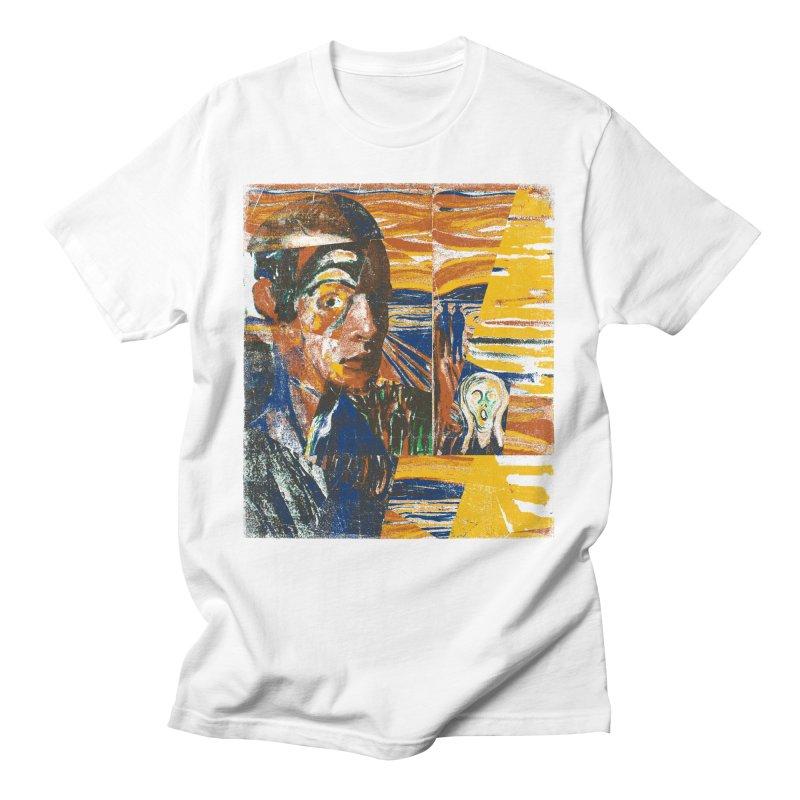 Munch (rework) Men's T-Shirt by bulo