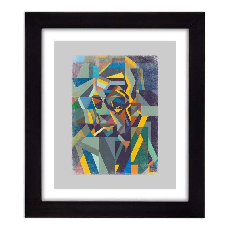 Camus Home Framed Fine Art Print by bulo