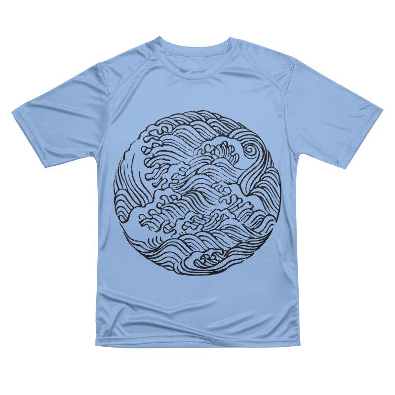 Ha Bun Shu Waves Refined Men's T-Shirt by bulo