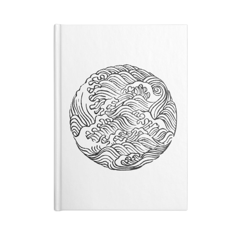 Ha Bun Shu Waves Refined Accessories Notebook by bulo