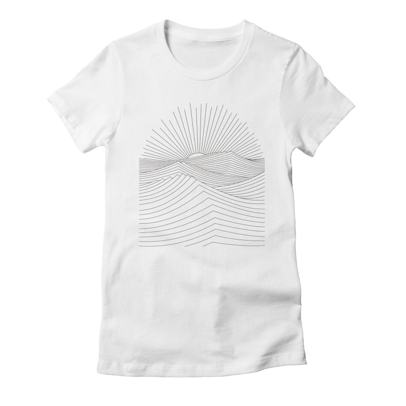 Sunrise Women's Fitted T-Shirt by bulo