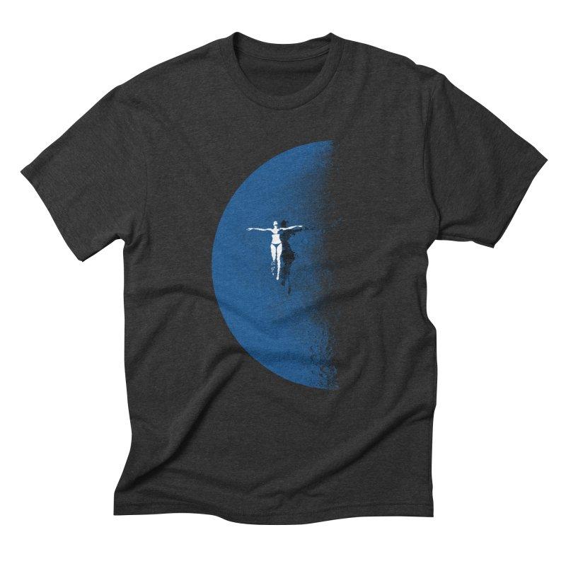 Blue Fantasy Rework Men's Triblend T-shirt by bulo