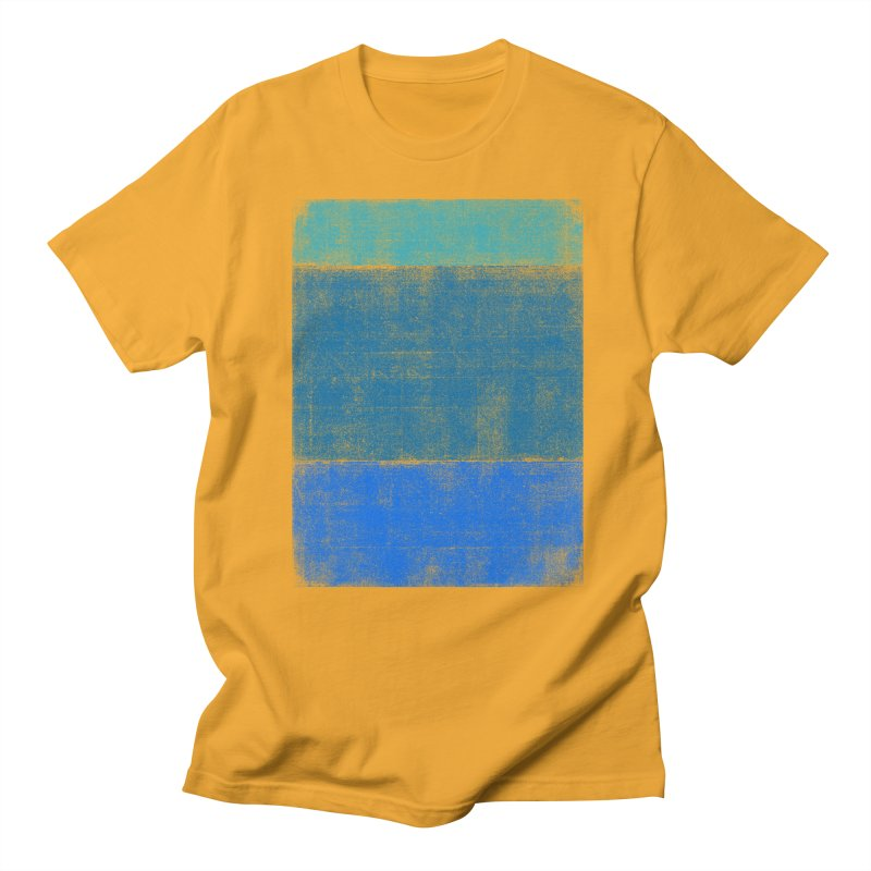 Blue Vibes Men's T-shirt by bulo