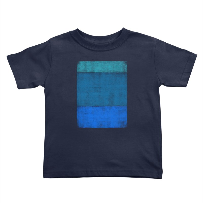 Blue Vibes Kids Toddler T-Shirt by bulo