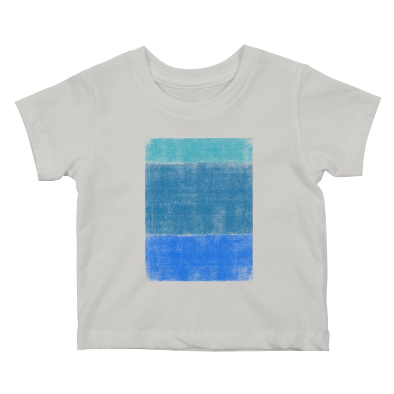 Blue Vibes Kids Baby T-Shirt by bulo