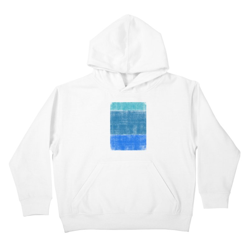 Blue Vibes Kids Pullover Hoody by bulo