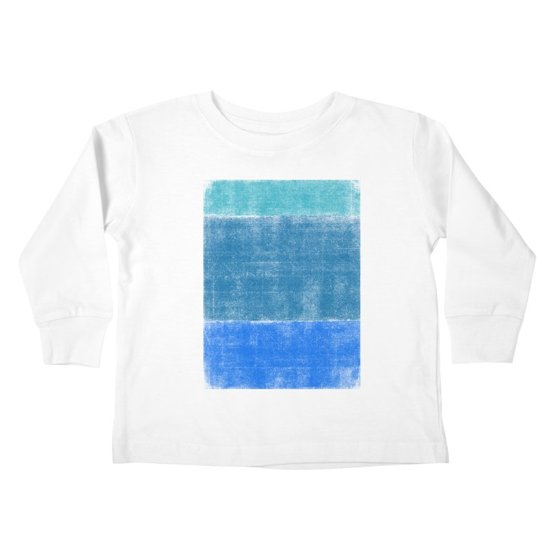 Blue Vibes Kids Toddler Longsleeve T-Shirt by bulo