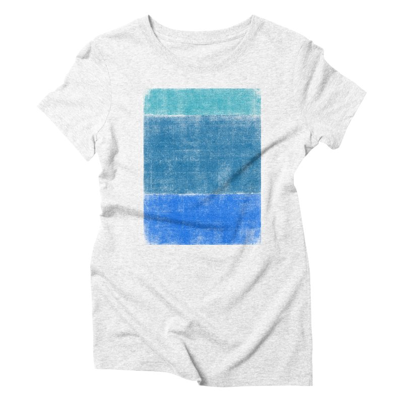 Blue Vibes Women's Triblend T-shirt by bulo