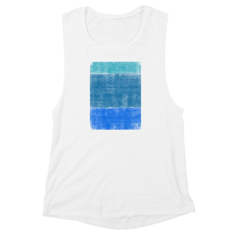 Blue Vibes Women's Muscle Tank by bulo