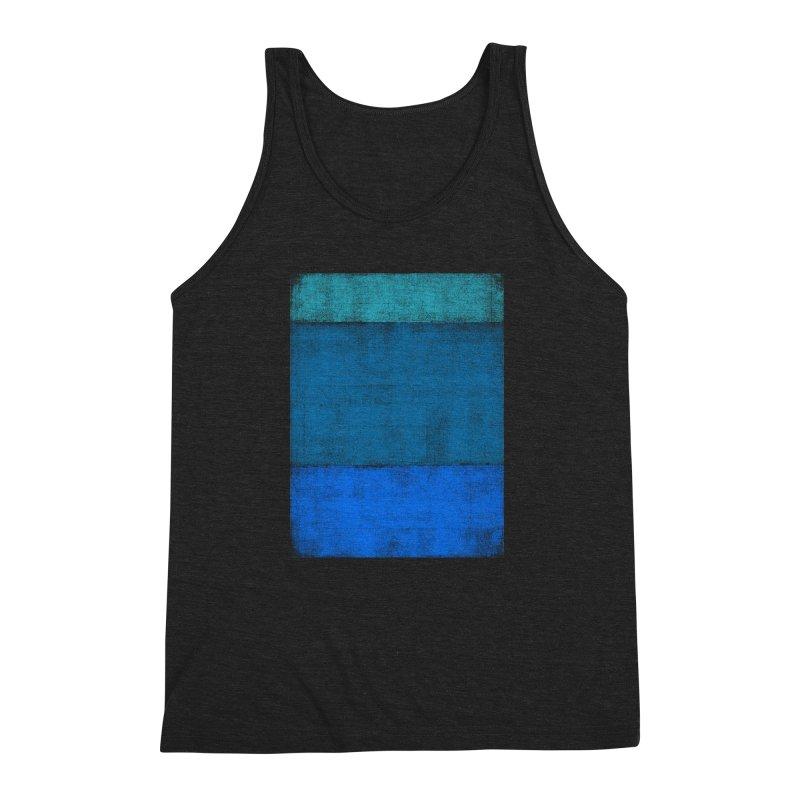Blue Vibes Men's Triblend Tank by bulo