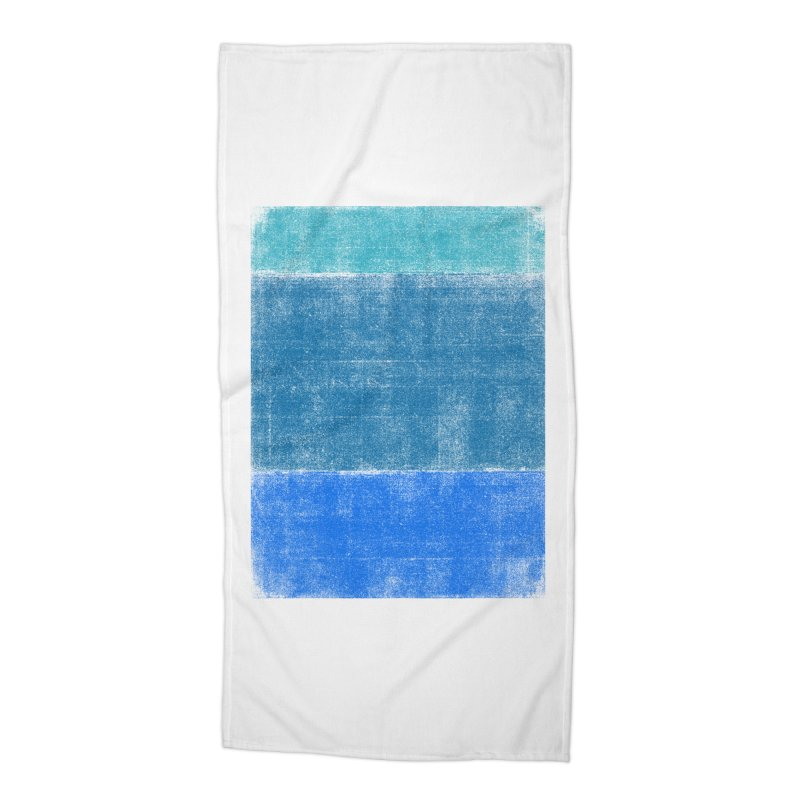 Blue Vibes Accessories Beach Towel by bulo
